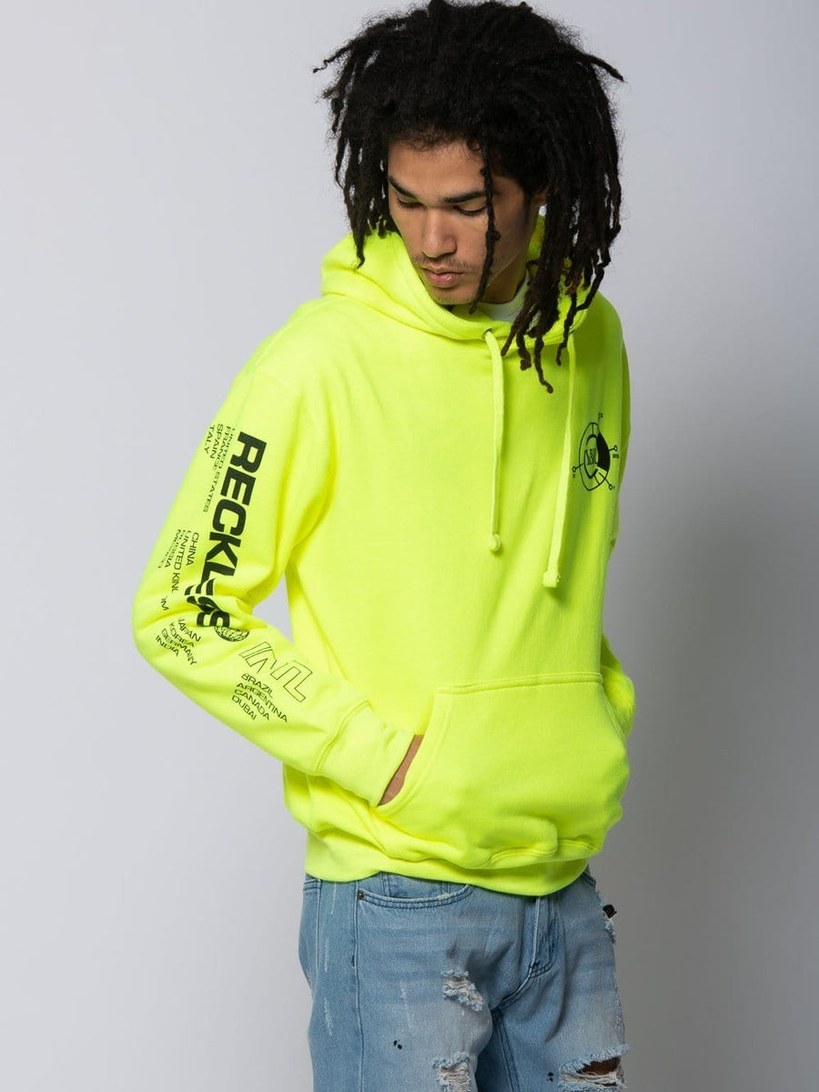Frequency Hoodie - Safety Green