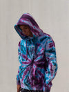 Young and Reckless Mens - Fleece - Hoodies Head 2 Head Hoodie - Purple Tie Dye