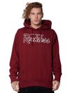 Young and Reckless Mens - Fleece - Hoodies OG Reckless Hoodie - Burgundy