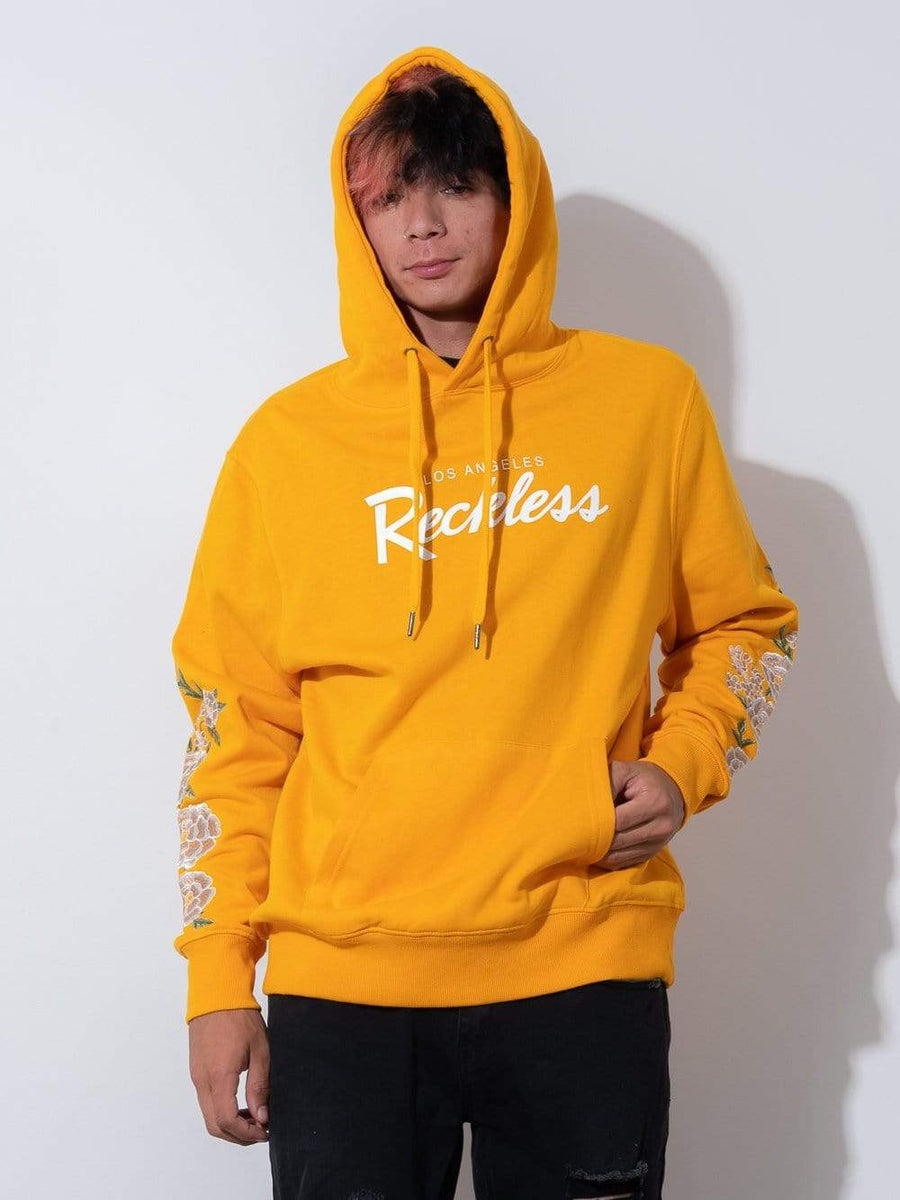 Young and Reckless Mens - Fleece - Hoodies OG Vista Hoodie - Gold