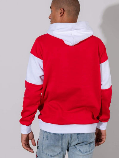 Young and Reckless Mens - Fleece- Hoodies - Sakai Hoodie - Red and White
