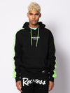 Young and Reckless Mens - Fleece - Hoodies Sidewinder Hoodie - Black