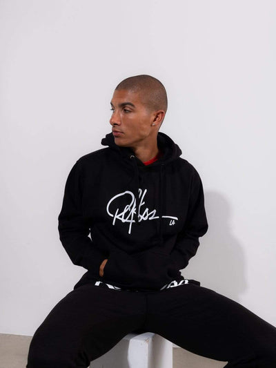 Young and Reckless Mens - Fleece- Hoodies - Signature Hoodie - Black and White