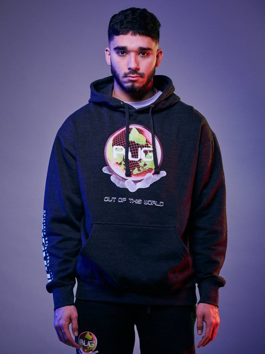 Y&R x FaZe Rug See The Light Hoodie - Charcoal