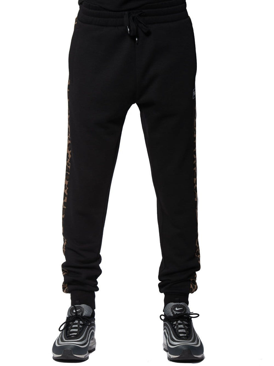 Feline Sweatpants - Black