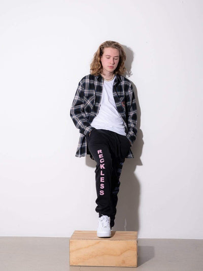 Young and Reckless Mens - Fleece - Sweatpants From Within Hoodie Sweatpants - Black