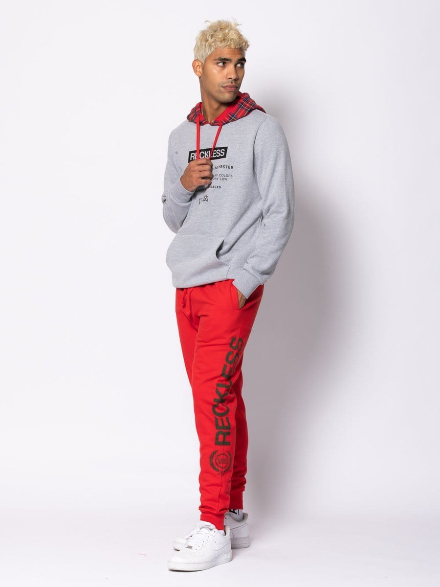 Prevail Sweatpants - Red