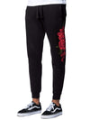 Young and Reckless Mens - Bottoms - Sweatpants - Rosebud Sweatpants - Black