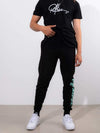 Young and Reckless Mens - Fleece - Sweatpants Vertical OG Sweatpants - Black