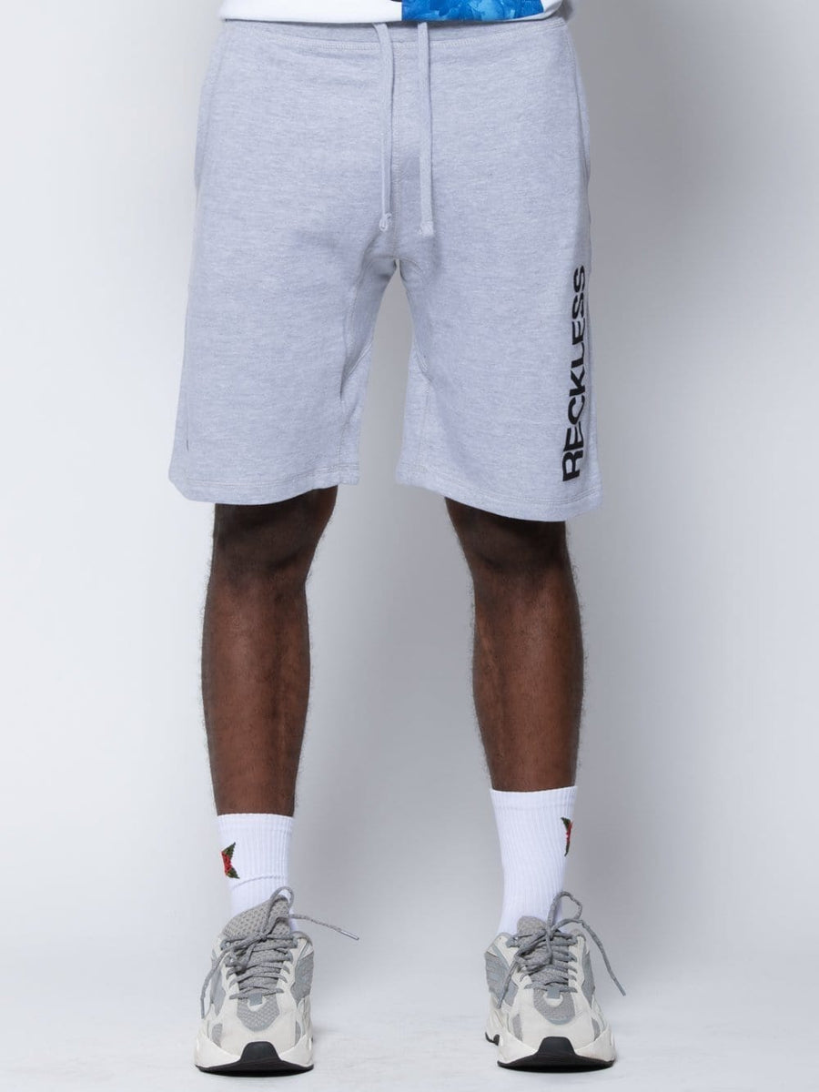 Young and Reckless Mens - Fleece - Sweatshorts Classic Sweatshorts - Heather Grey S / HEATHER GREY