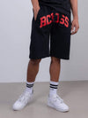 Young and Reckless Mens - Fleece - Sweatshorts Reign Sweatshorts - Black/Red