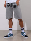 Young and Reckless Mens - Fleece - Sweatshorts Splash Back Sweatshorts - Grey