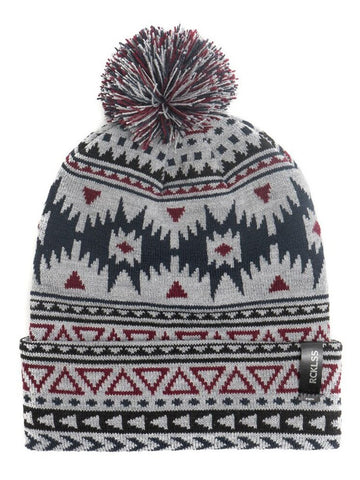 Young and Reckless Mens - Headwear - Beanie Native Pom Beanie