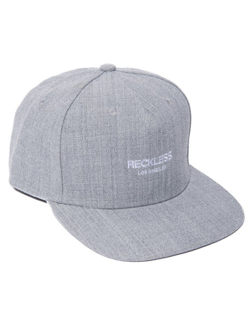 Young and Reckless Mens - Headwear - Snapback Classic Snapback- Heather/White