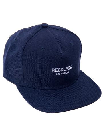 Young and Reckless Mens - Headwear - Snapback Classic Snapback- Navy/White
