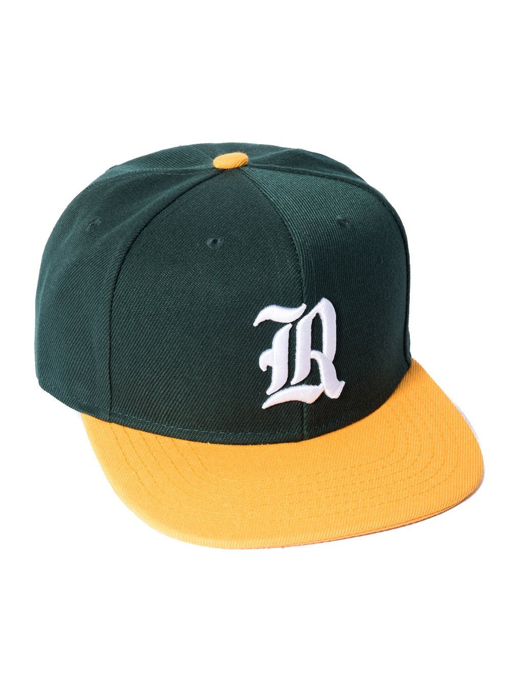 5410352227a5e ... Young and Reckless Mens - Headwear - Snapback Olde R Fitted Hat - Green Yellow  ...