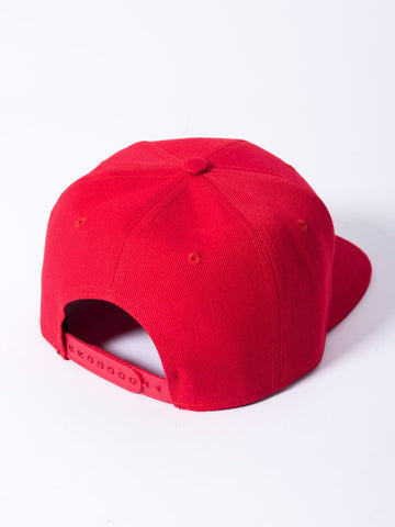 Olde R Fitted Snapback - Red/White