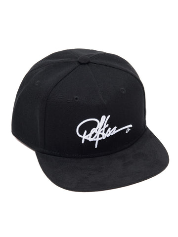 Young and Reckless Mens - Headwear - Snapback Signature Snapback - Black/Suede