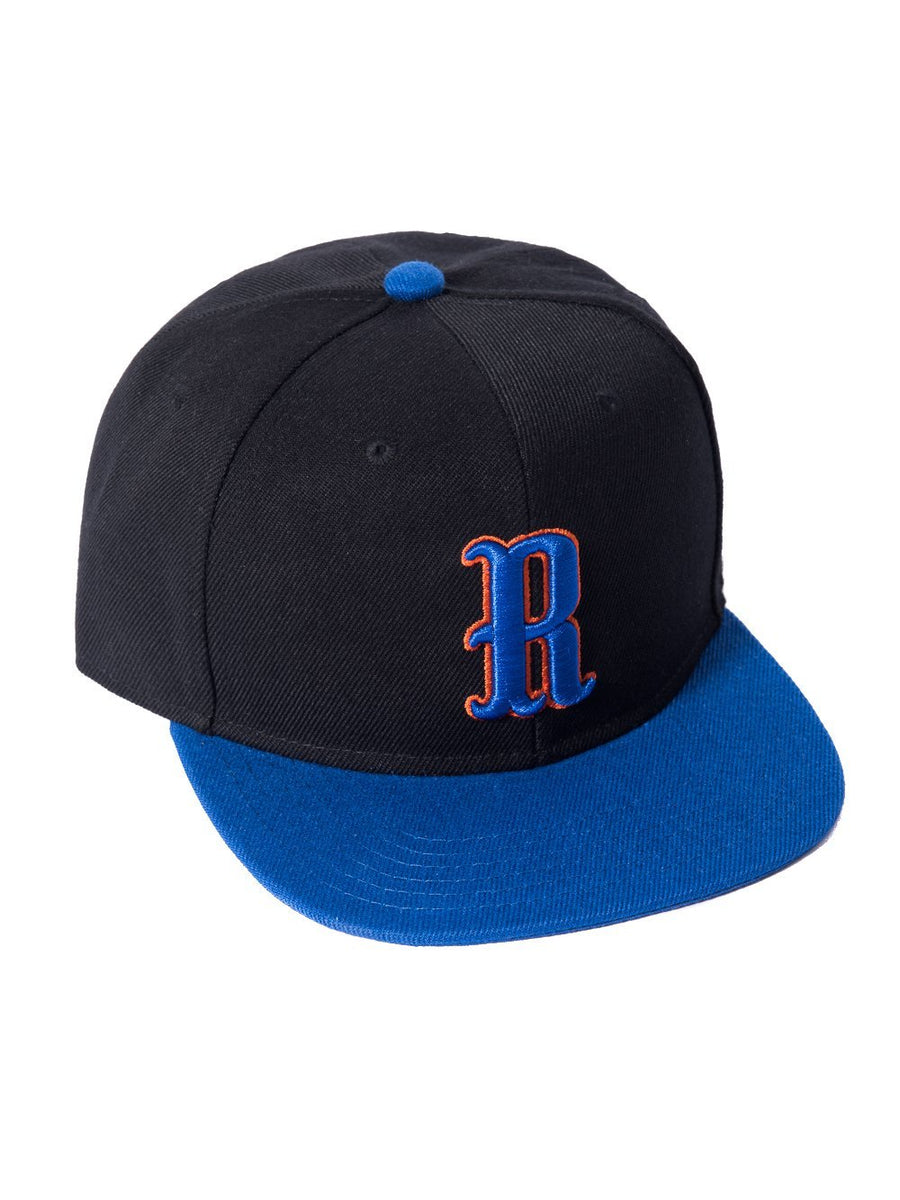Westward Fitted Hat - Black/Blue