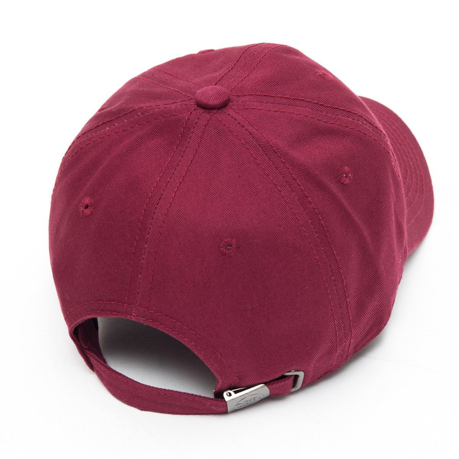 Young and Reckless Mens - Headwear - Strapped Classic Dad Hat - Maroon