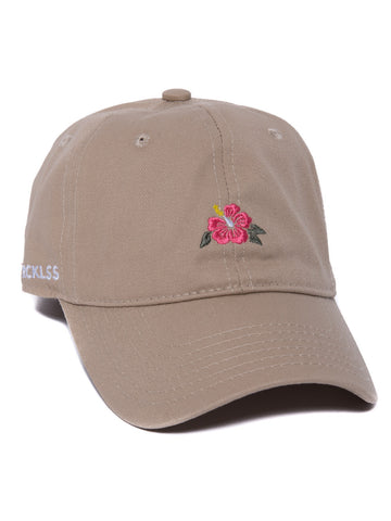 Young and Reckless Mens - Headwear - Strapped Lush Dad Hat- Khaki
