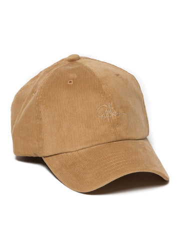 Young and Reckless Mens - Headwear - Strapped Signature Corduroy Dad Hat- Tan