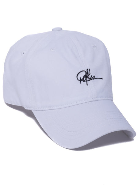 Signature Dad Hat- White
