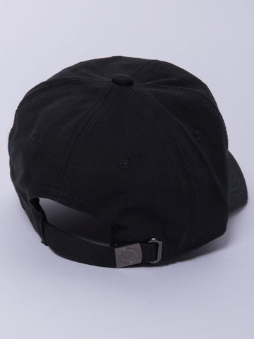 Stacked Dad Hat- Black