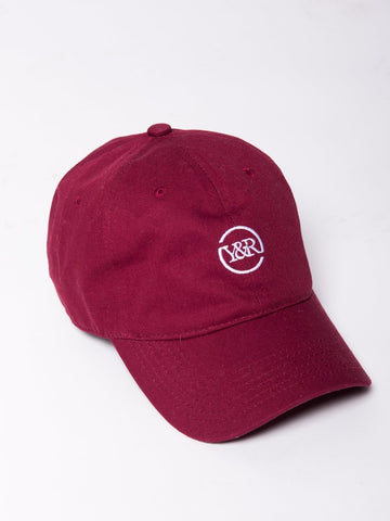 Young and Reckless Mens - Headwear - Strapped Trademark Loop Hat - Burgundy (Black Friday)