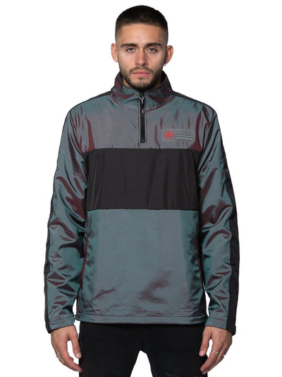 Young and Reckless Mens - Outerwear Aperture Anorak Windbreaker - Multi