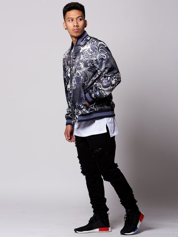 Jakob Bomber Jacket- Black