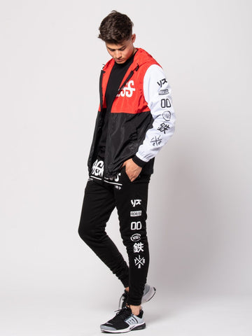 Climax Windbreaker - Red/White