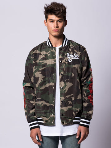 Young and Reckless Mens - Outerwear - Lightweight Jackets / Bombers Hawker Bomber Jacket- Camo