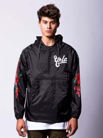 Young and Reckless Mens - Outerwear - Lightweight Jackets / Bombers Hawker Windbreaker- Black