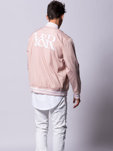 Magistrate Bomber Jacket- Pink