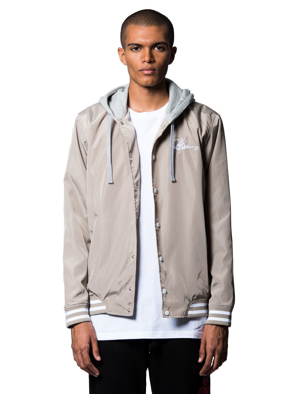Young and Reckless Mens - Outerwear - Lightweight Jackets / Bombers Preston Bomber Jacket- Sand