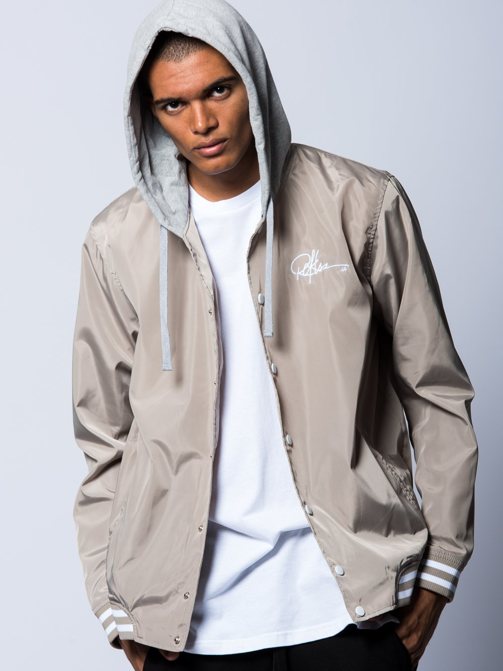 Preston Bomber Jacket Sand