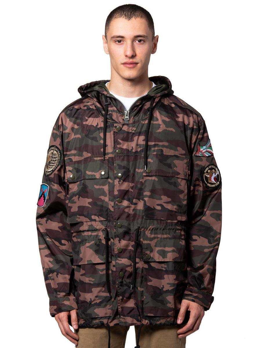 14b4acbda900 Young and Reckless Mens - Outerwear - Lightweight Jackets / Bombers  Vandergrif Parka - Camo Green