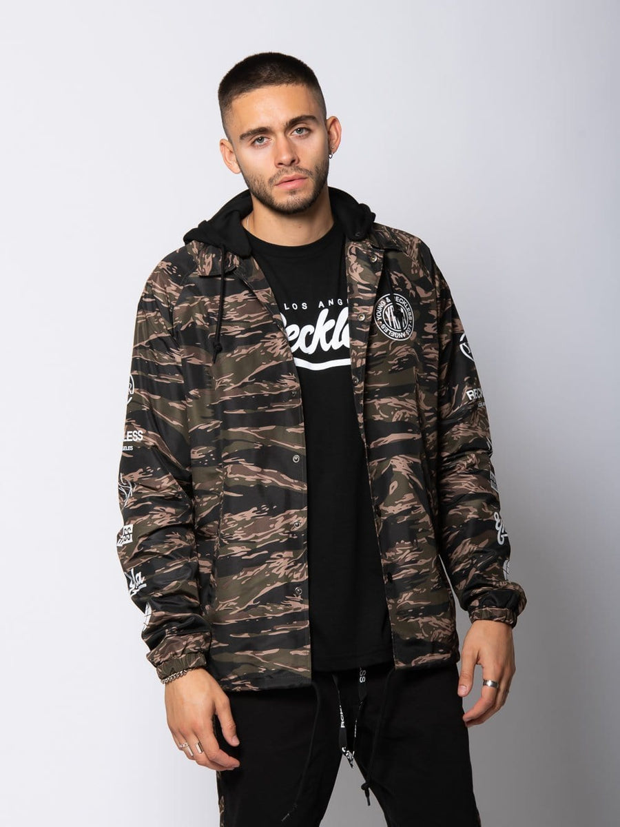 Outpost Coach Jacket - Tiger Camo