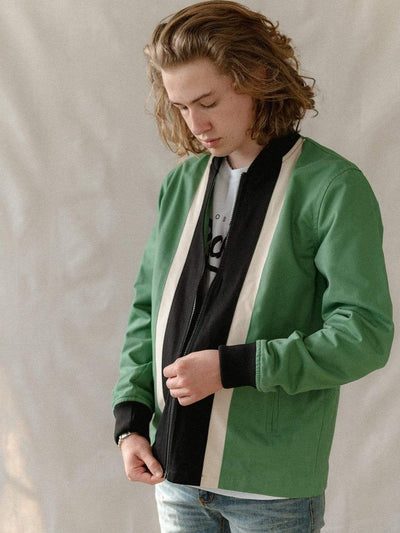 Young and Reckless Mens - Outerwear Pismo Bomber Jacket - Sage