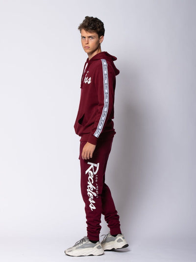 Young and Reckless Mens - Sets Detour Set - Burgundy