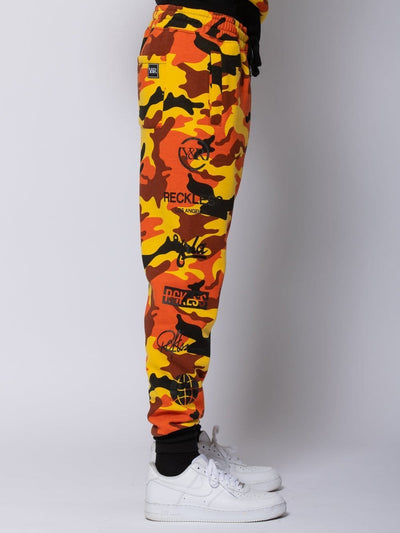 Young and Reckless Mens - Sets Tango Set - Orange Camo