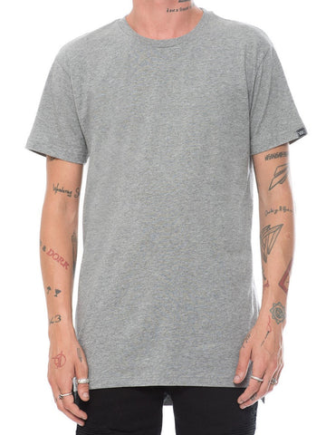 Leandro Long Tee - Heather Grey