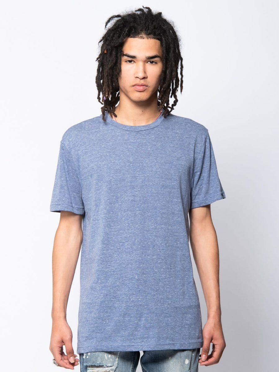 Young and Reckless Mens - Tees - Basic Tee Hamilton Tee - Blue S / BLUE