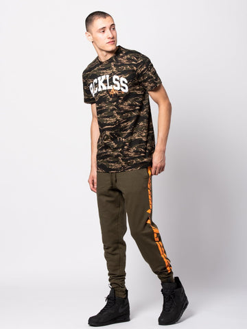 Homecoming Tee - Camo Green