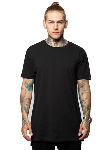 Young and Reckless Mens - Tees - Basic Tee Leandro Long Tee- Black
