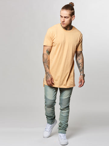 Leandro Long Tee- Peach