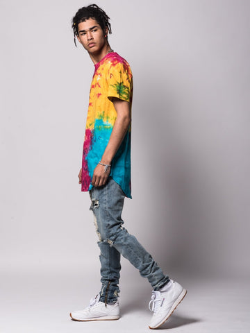 Mini Sig Elongated Tee - Rainbow