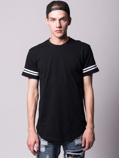 Young and Reckless Mens - Tees - Basic Tee Raymond Tee- Black