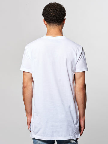 Vincent V-Neck Tee- White